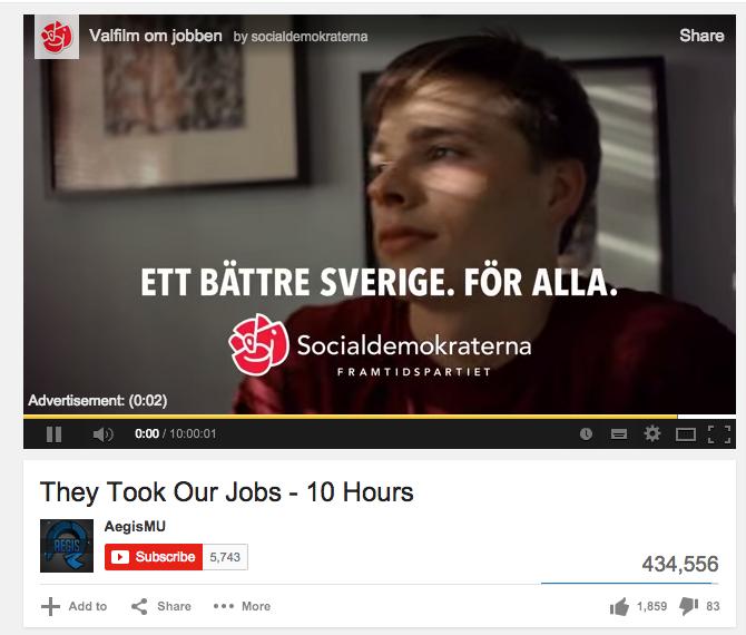 De tog våra jobb!
